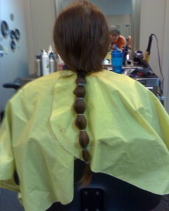 hair soon gone