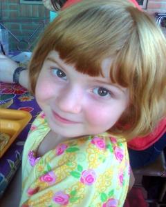 Rachel 5yrs old
