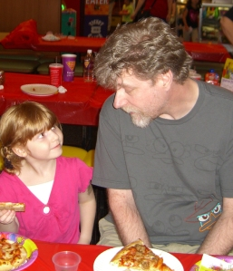 Rachel with Stuart