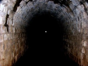 light at the end of the tunnel....photo from deviantart.com by zoop zoop