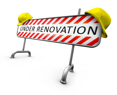 Renovations are nearly complete sorry for any inconvenience