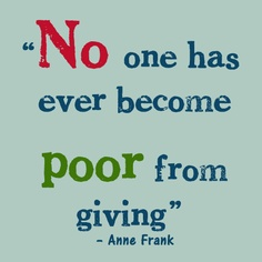 no one poor