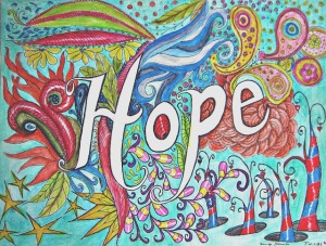 Hope... for Dr. Gray by w. holcombe copywrite 2014