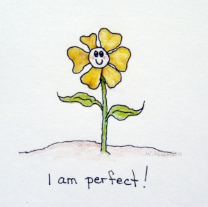 I am (imperfectly) perfect - by w. holcombe