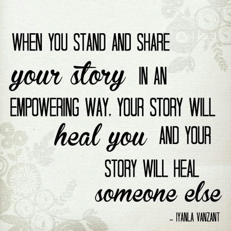 Image result for sharing your story