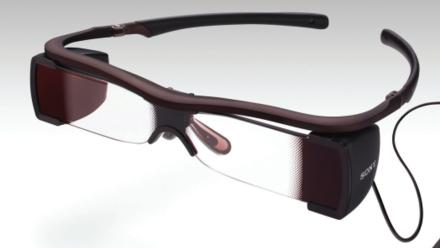 captions sony glasses