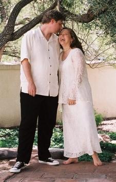 walk in the garden wedding